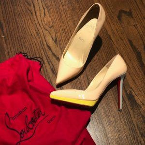 Christian Louboutin Pink Pigalle Plato 120 Pumps